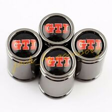 Car Wheel Tire Tyre Valve Stem Titanium Alloy Sport Caps FOR Volkswagen GTI Golf