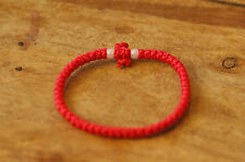 RED Waxed Chotki Komboskoini Summer Bracelet Christian Orthodox Prayer Rope