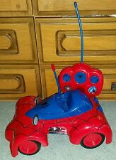 MARVEL AMAZING SPIDERMAN REMOTE CONTROL CAR RC LARGE SPIDER CAR