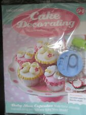Deagostini Cake Decorating Magazine ISSUE 94 WITH SILICONE BABY SHOE MOULD