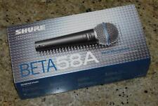 Genuine NEW Shure Beta 58A Legendary Vocal DJ Band Super Cardioid Mic Microphone