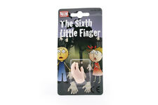 Mini Plastic Puppet Sixth Little Finger Novelty Joke April Fools Halloween Prank
