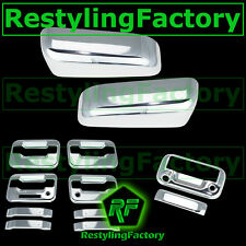 09-14 F150 Chrome HALF Mirror+4 Door Handle+KYP+PSG K.H+Tailgate Camera Cover