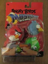 Angry Birds Mashems Series 1 3-pack very hard to find Red The Blues Green Pig