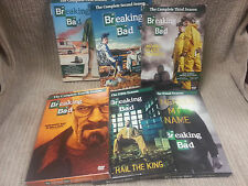 BREAKING BAD SEASONS 1-5 & FINAL (1 2 3 4 5 & FINAL) GOOD CONDITION 21 DISK SET