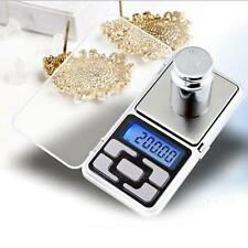 200g 0.01 Mini LCD Digital Pocket Scales Jewelry Precision Electronic Weight Lab