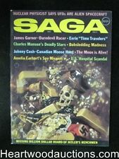 Saga Feb 1971 Charles Manson, Gayle Hunnicutt, James Garner, Johnny Cash - High