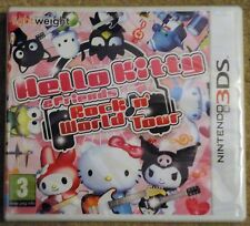 HELLO KITTY & FRIENDS ROCK 'N' WORLD TOUR NINTENDO 3DS GAME brand new sealed UK