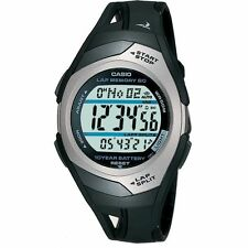 Mens Memory Runners Fitness Stopwatch Casio STR-300C-1VER Alarm Digital Watch