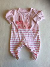 Girls Babygrows - Newborn Next Bunny Baby Grow Sleepsuit