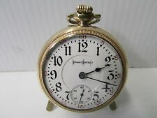 Bunn Special Illinois Watch Co. Open Face Pocket Watch w/23 Ruby Jewels ~3026892
