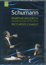 Martha Argerich Riccardo Chailly SCHUMANN Symphony 4 Piano Concerto DVD NEW