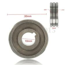 """Welder Wire Feed Drive Roller Roll Part 0.8-1.0 V-Groove 0.30""""-0.40"""" Dia. 30mm"""