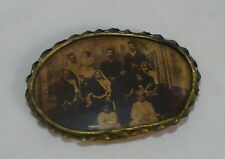 Old Unique Original Photograph Indian Picture Frame With Rear Gold Painted