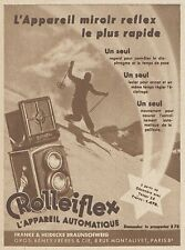 Z8324 ROLLEIFLEX l'appareil automatique - Pubblicità d'epoca - 1933 Old advert