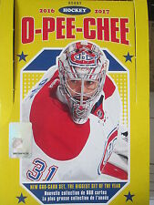 2016-17 OPC HOCKEY CARDS , PICK ANY 10 CARDS FROM THE LIST *NEW CARDS ADDED*