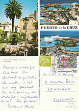 1990's PUERTO DE LA CRUZ TENERIFE SPAIN COLOUR POSTCARD