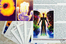 You Can Learn Hands-on Energy Healing Reiki Chakra 10-30-Min Educational Charts