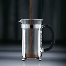 Bodum Chambord 3 cup French Press Coffee Maker, 12 oz., Chrome , New, Free Shipp