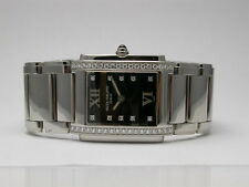 PATEK PHILLIPPE 4910/10A-001 BLACK DIAL 10 DIAMOND MARKERS QUARTZ WOMEN'S WATCH