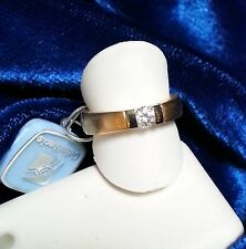 Gelin Abaci 14k Yel. & White Gold Engagement Ring**Tension Setting**TR-051B*NEW*