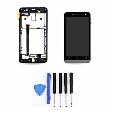Black LCD Screen Touch Digitizer Assembly+Frame For Asus Zenfone 5 A501CG A500CG