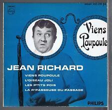45 RPM EP JEAN RICHARD VIENS POUPOULE
