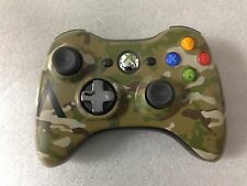 Microsoft Special Edition Camouflage Wireless Controller for Xbox 360