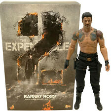 HOT TOYS MMS194 The Expendables 2 1/6 Scale Barney Ross 30cm Action Figure