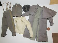 "Dragon - BBK 1/6th Scale Confederate Officers Distressed Uniform ""Hex"""