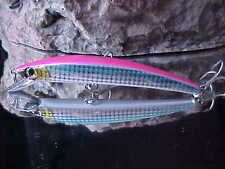 "Yo-Zuri Duel 4 3/8"" 7/16oz Crystal Floating Minnow R1124 in HOLO FLORESCENT PINK"