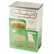 CAKE DECORATING KIT CARRY-ALONG CADDY PASTRY BAKING New