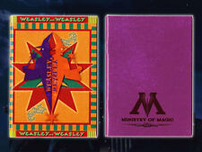 Harry Potter Mini Note Book 2pc Weasley's Twins & Ministry of Magic Stationary