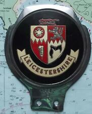 Used Chrome Car Mascot Badge : Leicestershire by Renamel