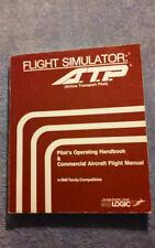 flight simulator: (airline transport pilot) handbook/commercial flight manual