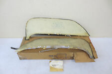 NOS 1962 FORD FAIRLANE 62 MERCURY METEOR STAINLESS STEEL FOXCRAFT FENDER SKIRTS
