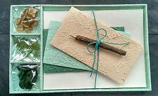 Cadeau exquis lettre / écriture papeterie set / papier fait main mulberry / SEAGLASS