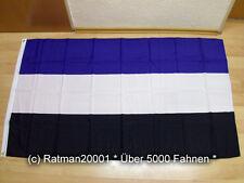Fahnen Flagge Hamburg drei Farben HSV Fan - 90 x 150 cm