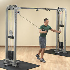 Body-Solid Pro Clubline Cable Crossover - 235 lb. stacks- SCC1200G/2