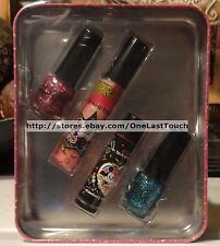 **SMACKERS Tin Set TO-KI-O TREATS Lot BFF FUN Lip Gloss/Balm + 2 Nail Polish