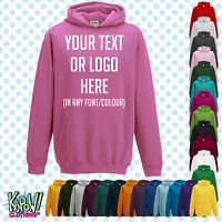 Custom Personalised Baby/Kids/Childrens HOODIE Name Funny Gift - Your text/logo