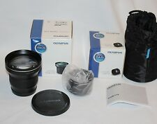 NEW OLYMPUS TCON-17X  & CLA-12 Tele Conversion Lens set TCON17X for XZ-1, XZ-2