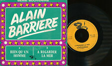 ALAIN BARRIERE 45 TOURS BELGIQUE A REGARDER LA MER+