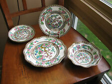 LOT COALPORT INDIAN TREE pieces Stamped England A.D 1750 Bowl Plate Saucer
