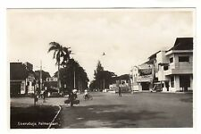 Palmenlaan Soerabaja Surabaya Real Photo Postcard c1930s East Java Indonesia