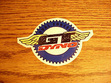 NOS Vintage BMX GT Dyno Decal.....Bike....Bicycle...Mid School....Trusted Seller