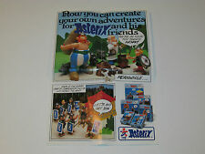 VINTAGE ASTERIX PLAY ACTION FIGURES TOY CATALOGUE FOLDER LEAFLET - CEJI TOYCLOUD