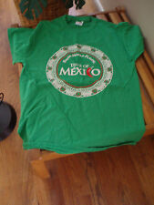 mexico a taste of mexico green t shirt size medium