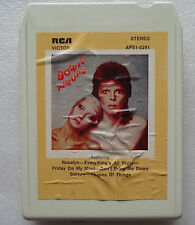DAVID BOWIE Pinups RARE!! 8 TRACK Tape AUSTRALIA Cartridge KINKS Who PINK FLOYD