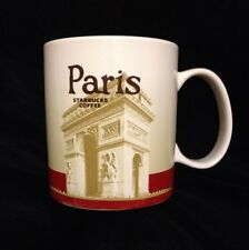 Starbucks Paris Mug Arc Triomphe France Eiffel Tower Seine New Icon Coffee Cup